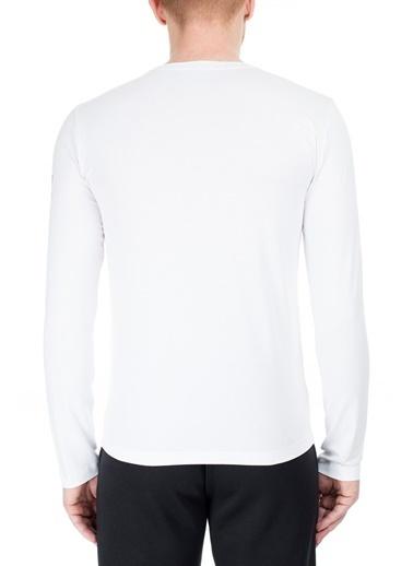 EA7 Emporio Armani  T Shirt Erkek T Shırt S 6Gpt59 Pjq9Z 1100 Beyaz